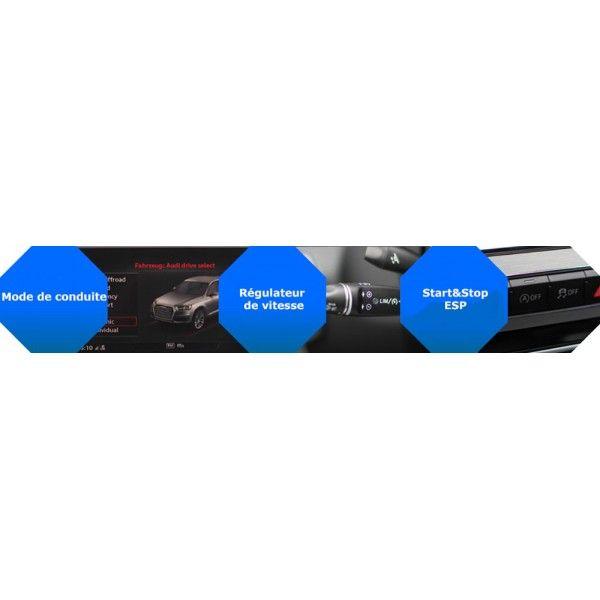 Active Sound Booster AUDI Q7 3,0 4,2 5,0 Diesel TDI 4L (2005-2015)  (CETE Automotive)
