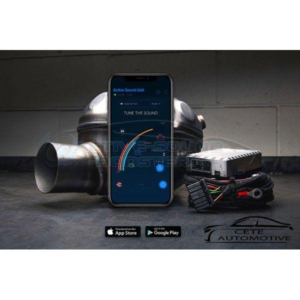 Active Sound Booster BMW X6 25d 30d 40d M50d Diesel E71 (2008+)  (CETE Automotive)