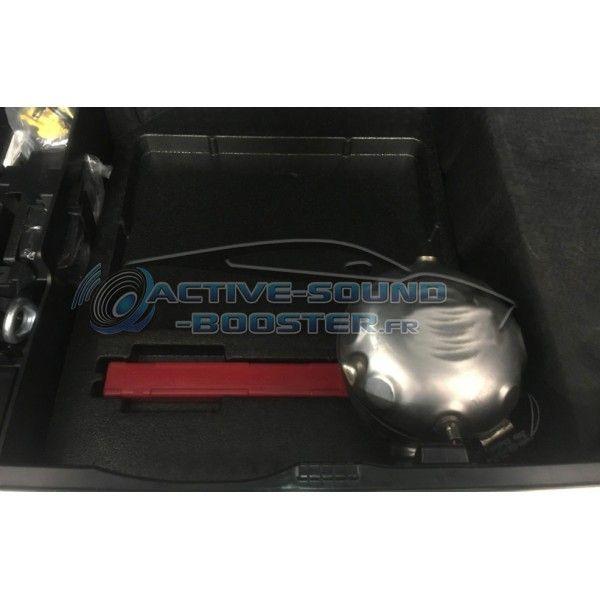 Active Sound Booster BMW X3 20i 30i 30e M40i Essence + Hybride G01/G08 (2017+)  (CETE Automotive)