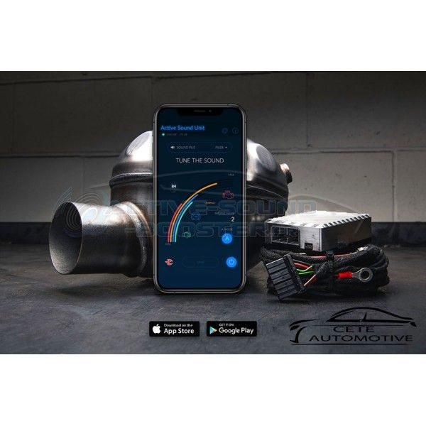 Active Sound Booster MERCEDES Classe E 200d 220d 350d 400d Diesel W/S213 (2016+)  (CETE Automotive)