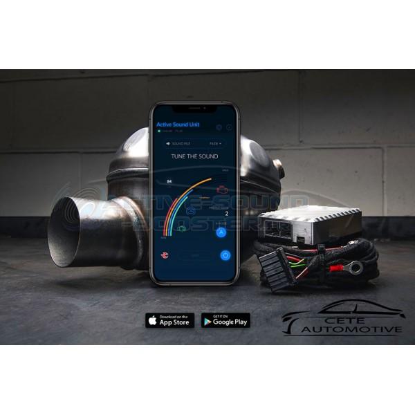 Active Sound Booster Alfa Roméo Giulia 2.2 JTD Diesel (2012+)(Cete Automotive)
