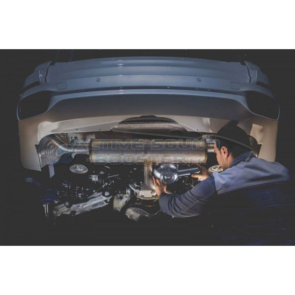 Active Sound Booster AUDI A4 2,0 3,0 TDI Diesel + Hybride B9/8W (2016+) (THOR Tuning)